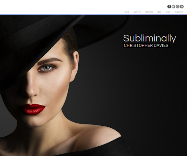 Website for model subjects