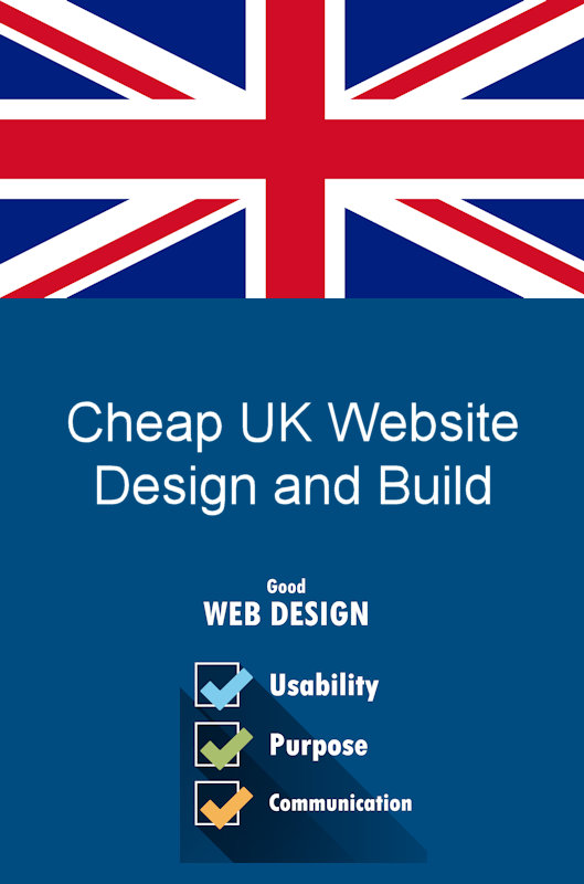 Our UK company can build low cost cheap websites.