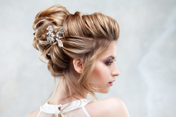 Different ideas for brides hair salon creativity